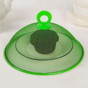 Крышка для продуктов Доляна, d=21 см, цвет МИКС