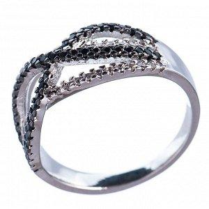 60022867 Кольцо р.17 Diamond - Бижутерия Selena