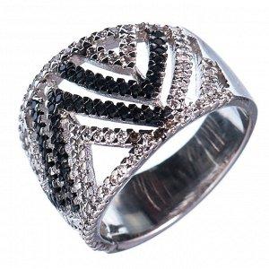 60022907 Кольцо р.17 Diamond - Бижутерия Selena