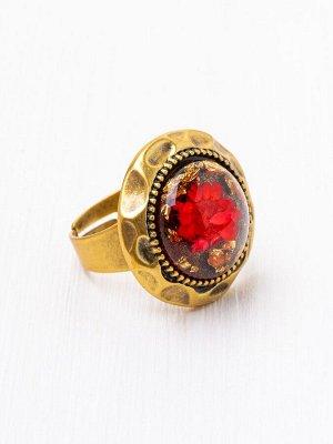 60031130 Кольцо Roman de la Rose -Бижутерия Selena