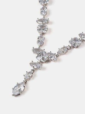 10089672 Комплект 2-х пр. Diamond - Бижутерия Selena