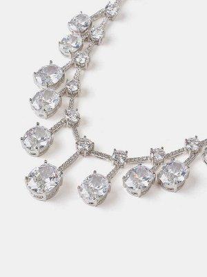 10089692 Комплект 2-х пр. Diamond - Бижутерия Selena