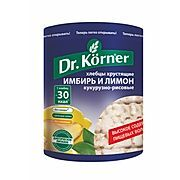 """Хлебцы «Злаковый коктейль» Имбирь - Лимон """"Dr korner"""""""