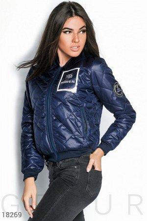 Демисезонная куртка-бомбер
