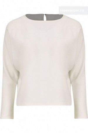 Строгая белая блузка