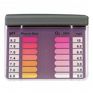 Тестер для измерения ионов водорода и свободного хлора в воде бассейна