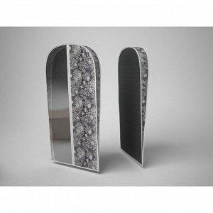 Чехол для хранения шубы «Метелица», 60х160х10 см