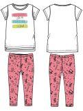 Комплект для девочек: футболка, легинсы