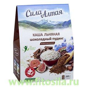 """Каша льняная """"Шоколадный пудинг"""", 200 г, серия """"Сила Алтая"""" (Специалист)"""