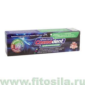 """Зубная паста """"Профилактическая Cosmodent"""", 60 мл, """"Космическое здоровье"""""""