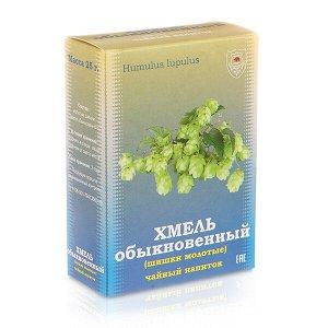 """Хмель обыкновенный (шишки молотые) чайный напиток, 25 г, """"ФИТОСИЛА"""" (коробочка)"""