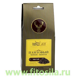 """Пантовый чайный напиток с чагой, 20 ф/п х 1,5 г, т. м. """"Зеленый Алтай"""""""