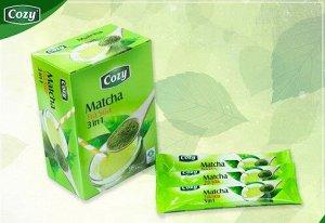 Зеленый чай Матча 3 в 1 с молоком