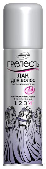 Лак д/волос ПРЕЛЕСТЬ 4 200см3