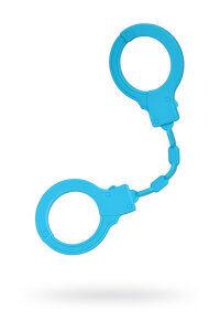 Силиконовые наручники , голубые, 33 см