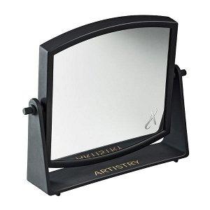Зеркало Вес/объем: 16,5 x 17,5 см. Элегантное и удобное поворотное двустороннее зеркало для нанесения макияжа и процедур по уходу за кожеи?. Одна из сторон увеличивает отражение в 7 раз. Срок годности