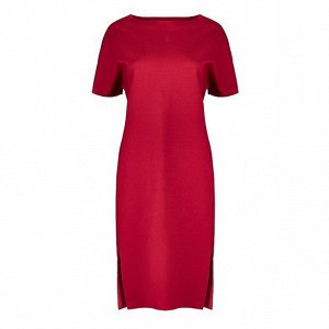 Женское платье (вишневое)