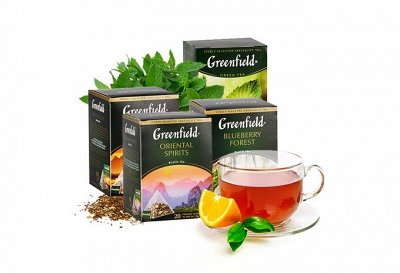 Мир вкуса и аромата с ТМ Greenfield 🍵TESS, BLENDY☕LavAzza — Чай Гринфилд — Чай