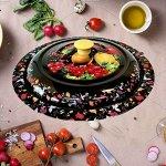 Блюдо металлическое с крышкой, 34 см