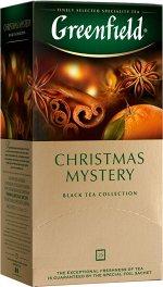 Чай Гринфилд Christmas Mystery 25пак
