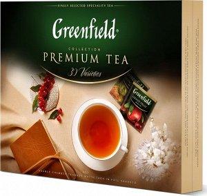 Чай Гринфилд Набор коллекция превосходного чая и чай.нап. 30 видов пак.