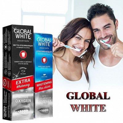 Товары первой необходимости! Растим коса до пояса! — Отличные зубные пасты GLOBAL WHITE. — Пасты