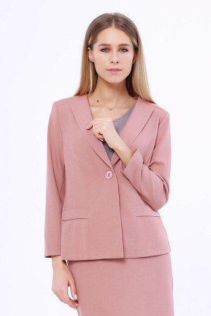 #95715 Жакет (VISERDI) Пыльно-розовый