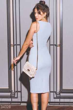 Нежный комплект с платьем