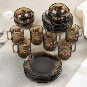 Набор столовый «Арабеск», 24 предмета