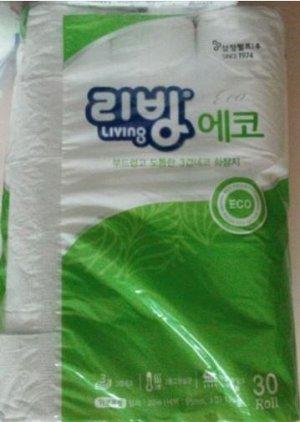 Трехслойная туалетная бумага 22м 30рулонов