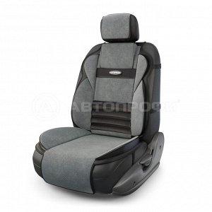 Накидка анатомическая на сиденье Multi Comfort (велюр) MLT-320 BK/D.GY