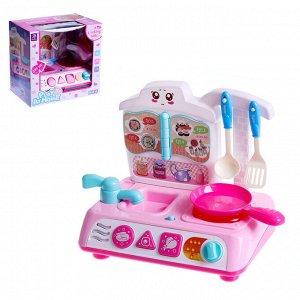 Игровой набор кухня «Малышка», со световыми и звуковыми эффектами