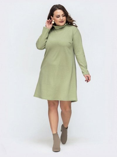 МОДНЫЙ ОСТРОВ ❤ Женская одежда. Весна 2021 — платья Большие размеры… — Платья