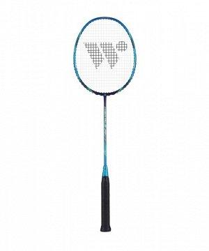 Ракетка для бадминтона WISH Carbon Pro 62, синий