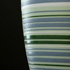 Горшок цветочный Саксония зеленый крокус №4 4,2 л