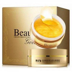 Патчи для глаз Beauty Collagen Golden Eye Mask 60 шт