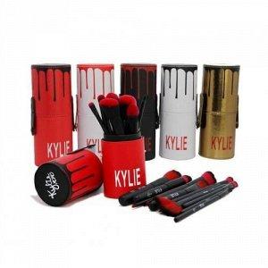 Набор кистей для макияжа Kylie 12 шт + футляр