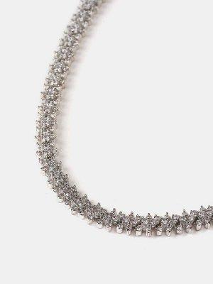 10089631 Колье Diamond - Бижутерия Selena