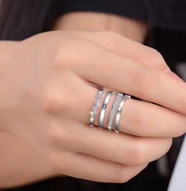 Серебряная сказка-58❀Новинки 2021❀ Серебро,украшения — Кольца — Кольца бижутерия