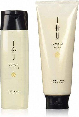 LEBEL IAU Cleansing Set - набор из шампуня и бальзама-ополаскивателя для непослушных волос