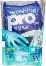 LION Средство для мытья посуды Washing Pro, мягкая упаковка, 1200 мл