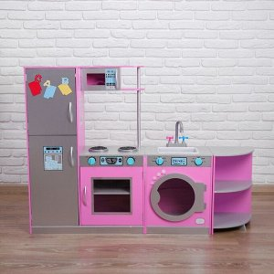 Игровой набор «Угловая кухня трансформер» 30*140*101 см