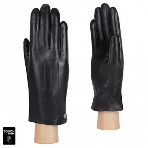 Перчатки, натуральная кожа, Fabretti S1.41-1s black