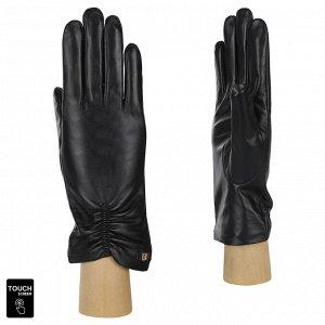Перчатки, натуральная кожа, Fabretti S1.7-1s black