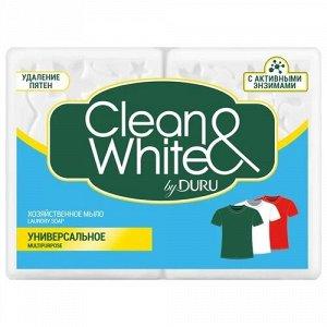 Мыдо хоз. DURU Clean & White 4*125 г универс.