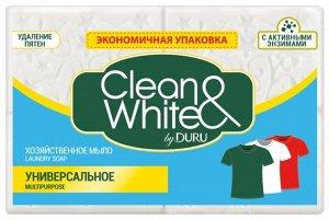 Мыло хоз. DURU Clean & White 2*125 г универс.