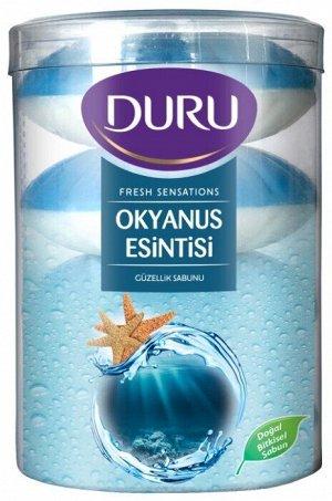 Мыло т. DURU Fresh 4*110г Океанский бриз (э/пак)