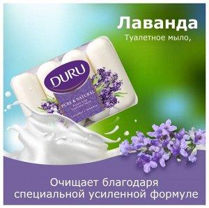 Мыло т. DURU экопак Purе&Natural 4*85г Лаванда