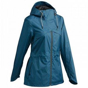 Куртка женская водонепроницаемая для походов NH500 QUECHUA