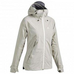 Куртка водонепроницаемая для походов в горах для женщин - MH500 QUECHUA